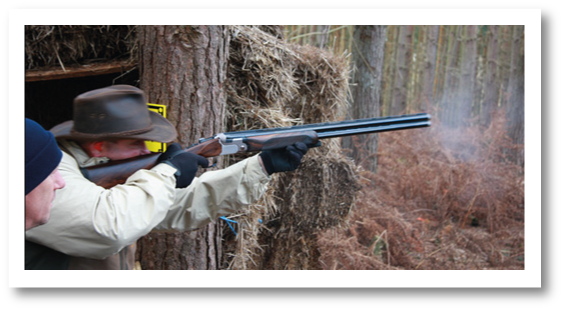 english sporting clay pigeon shooting surrey