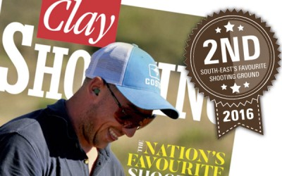 Voted Second Place in the South East by Clay Shooting Magazine!
