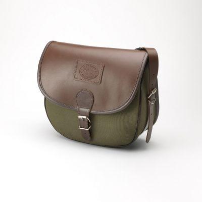 Leather & Canvas Shooting Bag