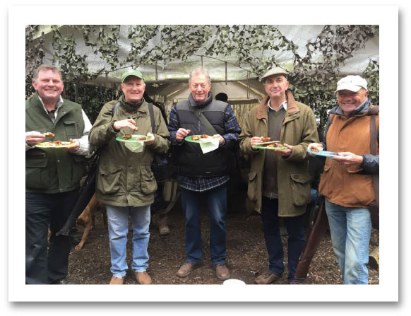 Clay Pigeon Shooting & Lunch in Surrey