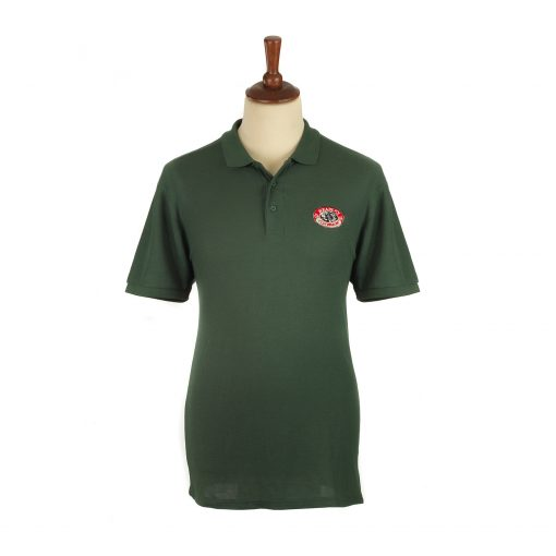 Headley Clay Pigeon Shooting Polo Shirt Green